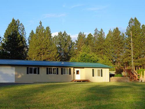 Country Home Acreage, 529 Mt Id : Grangeville : Idaho County : Idaho