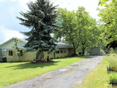 4 Bedroom Country Home Orofino : Orofino : Clearwater County : Idaho