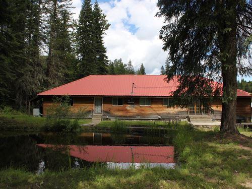 Country Home Creek, 30017 Highway : Pierce : Clearwater County : Idaho