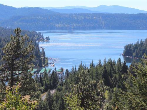 Northern Idaho Ranch Overlooking : Worley : Kootenai County : Idaho