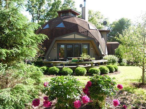 Dome Home For Sale in Elizabeth, IL : Galena : Jo Daviess County : Illinois