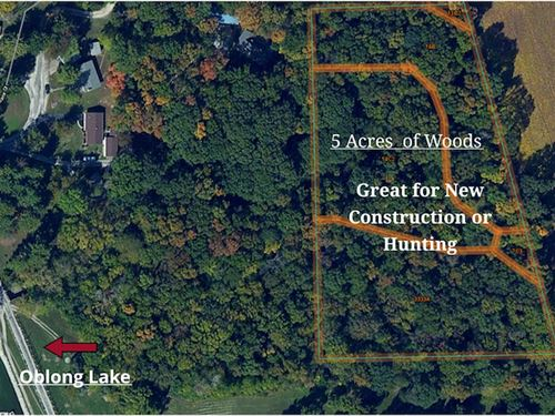 New Construction OR Hunting Acreage : Oblong : Crawford County : Illinois