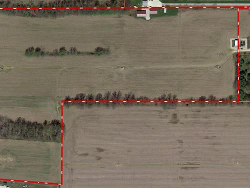 26.03 Acres of Land For Sale : Robinson : Crawford County : Illinois