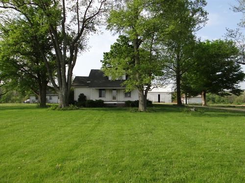 Country Home in Parker City, IN : Parker City : Randolph County : Indiana
