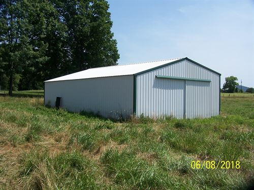1 Acre Lot Metal Bldg, / Septic : Windsor : Casey County : Kentucky
