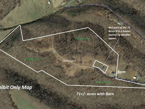 Central Kentucky Land Barn Reduced : Columbia : Adair County : Kentucky