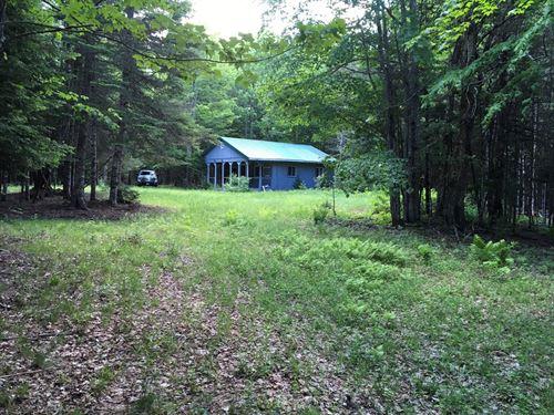 Maine Camp in Dover Foxcroft : Dover-Foxcroft : Piscataquis County : Maine