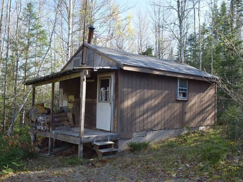 Maine Camp For Sale in Kingman Twp : Kingman : Penobscot County : Maine