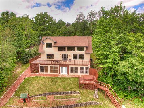 High Fence Hunting Ranch, 260 Acres : Atlanta : Montmorency County : Michigan