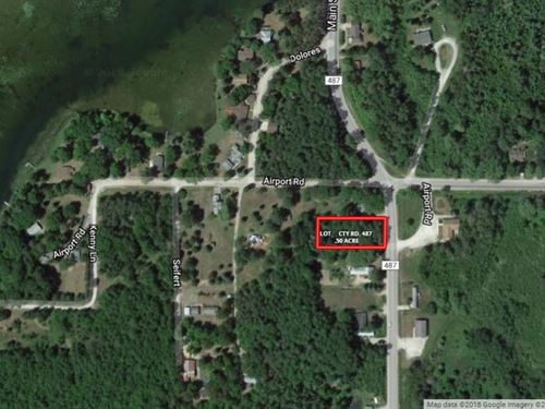 Wooded Lot in Atlanta Mi, .50 Acre : Atlanta : Montmorency County : Michigan