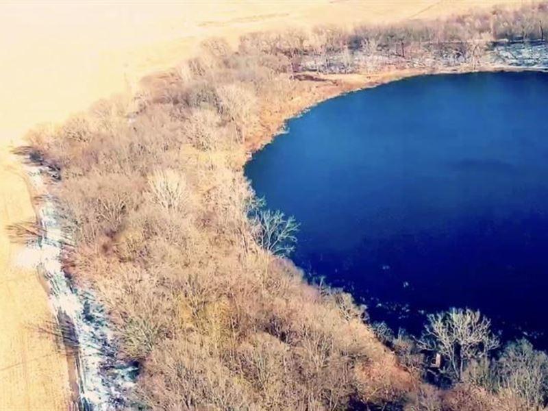 Beautiful Lakefront Property, Brown : Land for Sale : Hartford : Van Buren  County : Michigan
