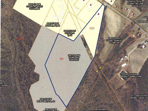 Heavy Industrial, Vacant Land : Ahoskie : Hertford County : North Carolina