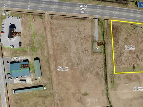 Commercial Lot Development : Beulaville : Duplin County : North Carolina