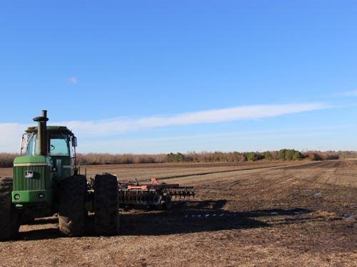 Farm, Over 50 Acres, Close to : Elizabeth City : Pasquotank County : North Carolina
