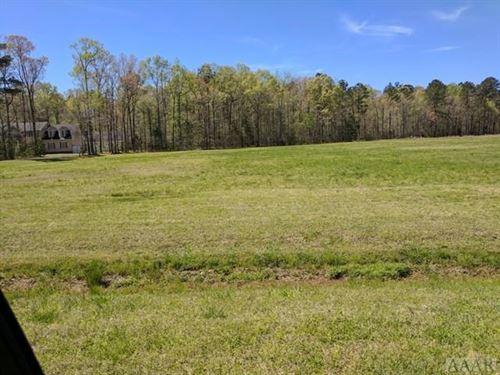 Canal Front Bldg Lot : Hertford : Perquimans County : North Carolina