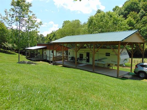 Mountain Retreat Land Well Septic : Lansing : Ashe County : North Carolina