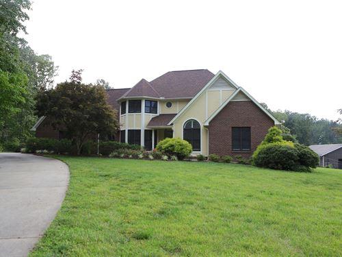 Country Home 19+ Acres Lincoln : Lincolnton : Lincoln County : North Carolina