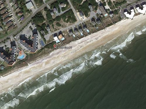 North Topsail Beach Lot For Sale : North Topsail Beach : Onslow County : North Carolina