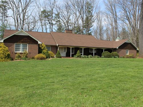 Home For Sale in Pilot Mountain NC : Pilot Mountain : Surry County : North Carolina