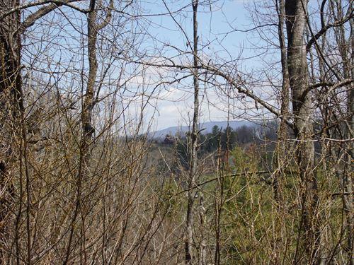Building Lot New River Blue Ridge : Piney Creek : Alleghany County : North Carolina