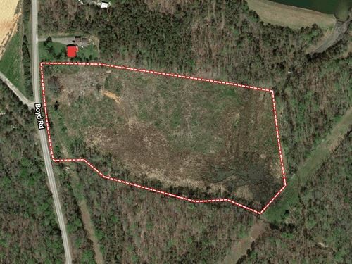 Auction, 16Ac Tract Lake Hunt Area : Reidsville : Rockingham County : North Carolina