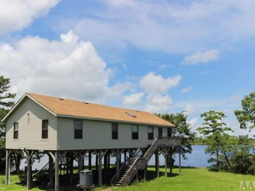 Waterfront Home Separate In-Law : Shiloh : Camden County : North Carolina