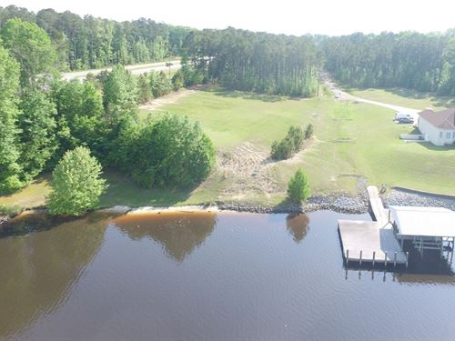 Waterfront Lot In Winton, NC : Winton : Hertford County : North Carolina