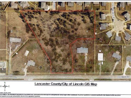Future Development Site Hickman, NE : Hickman : Lancaster County : Nebraska