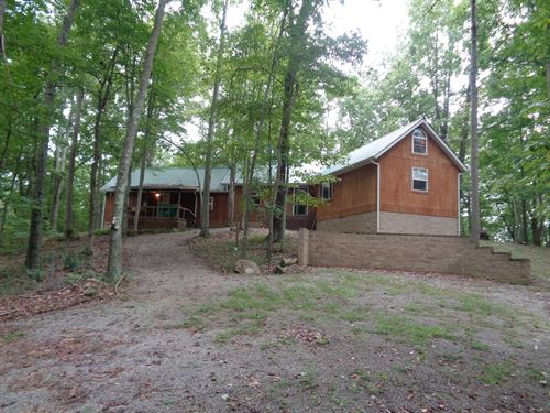 Cabin With Hunting And Stocked Pond : Thurman : Jackson County : Ohio