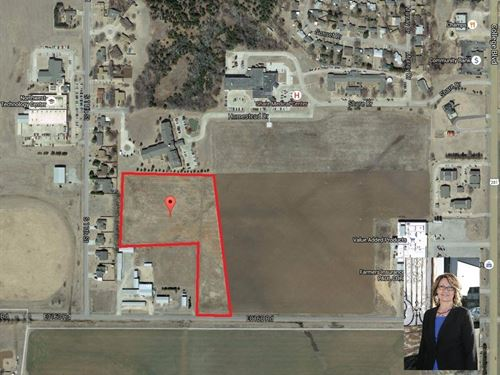 Lots 9.47 Acres Platted Residential : Alva : Woods County : Oklahoma