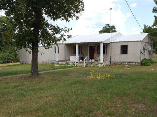 Country Home, Atoka, Oklahoma : Atoka : Oklahoma
