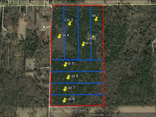 Land Broken Bow Oklahoma, Acreage : Broken Bow : McCurtain County : Oklahoma