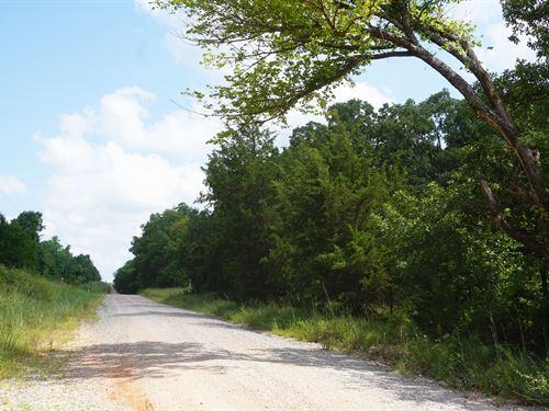 Oklahoma Hunting & Recreational : Chandler : Lincoln County : Oklahoma