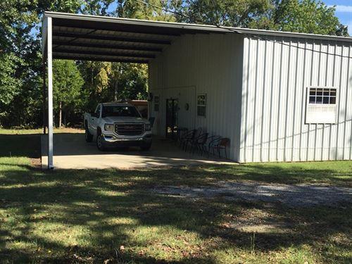 Unique Metal Home Clayton,Ok, Lake : Clayton : Pushmataha County : Oklahoma