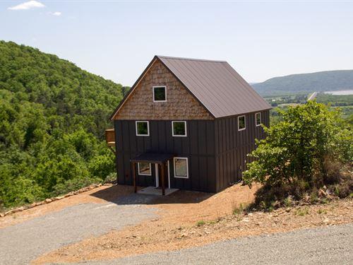 Mountain Modern Lake House Sardis : Tuskahoma : Pushmataha County : Oklahoma