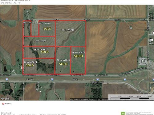 I-40 Frontage Land Custer County : Clinton : Custer County : Oklahoma