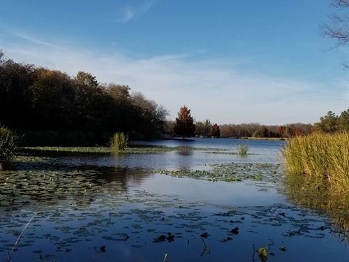 Lake Front Residential Lot : Fort Towson : Choctaw County : Oklahoma
