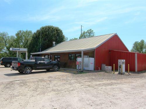 Turn-Key Convenience Store Land : Haworth : McCurtain County : Oklahoma
