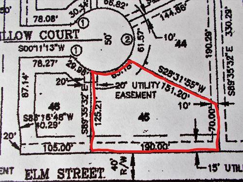 Residential Lot 45 Miami, Oklahoma : Miami : Ottawa County : Oklahoma