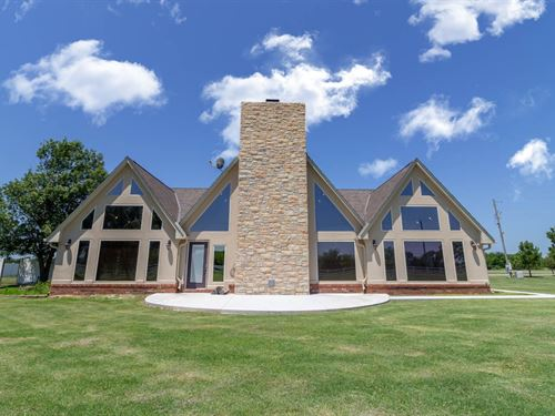 Stunning Dream Home 11.36 Acres : Pryor : Mayes County : Oklahoma