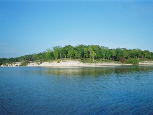 Lake Lot For Sale on Hugo Lake : Sawyer : Choctaw County : Oklahoma
