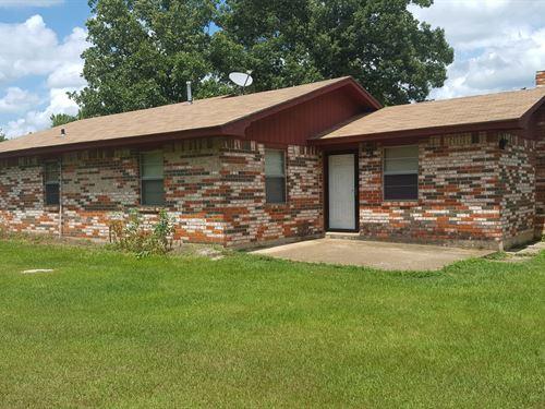 Southeastern Oklahoma House : Spencerville : Pushmataha County : Oklahoma
