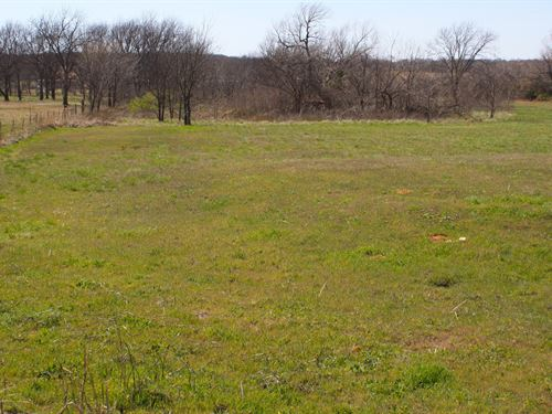 Central Oklahoma Country Acreage : Wellston : Lincoln County : Oklahoma
