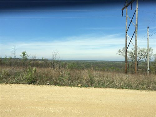 Small Acreage With Highway Frontage : Wetumka : Hughes County : Oklahoma