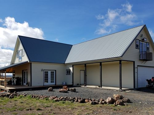Riley, Or, Large Home On 40 Acres : Riley : Harney County : Oregon