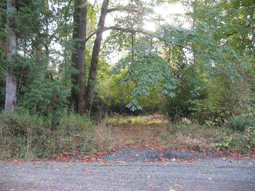 7.5 Acres Prime Western Washington : Grapeview : Mason County : Washington