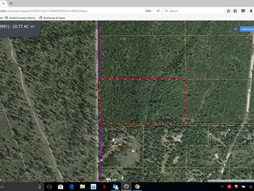 Acreage Washington, Residential : Loon Lake : Stevens County : Washington