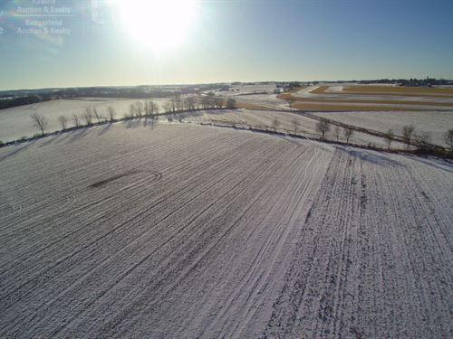 Prime Piece Farm Land Real Estate : Allenton : Washington County : Wisconsin
