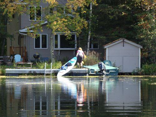 Chain O' Lakes Home Waupaca, WI : Waupaca : Wisconsin