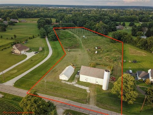Winchester Rd, 6 Acres : Canal Winchester : Fairfield County : Ohio